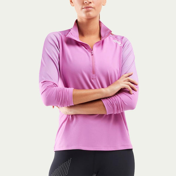 2XU Women's GHST 1/2 Zip LS Top AW20