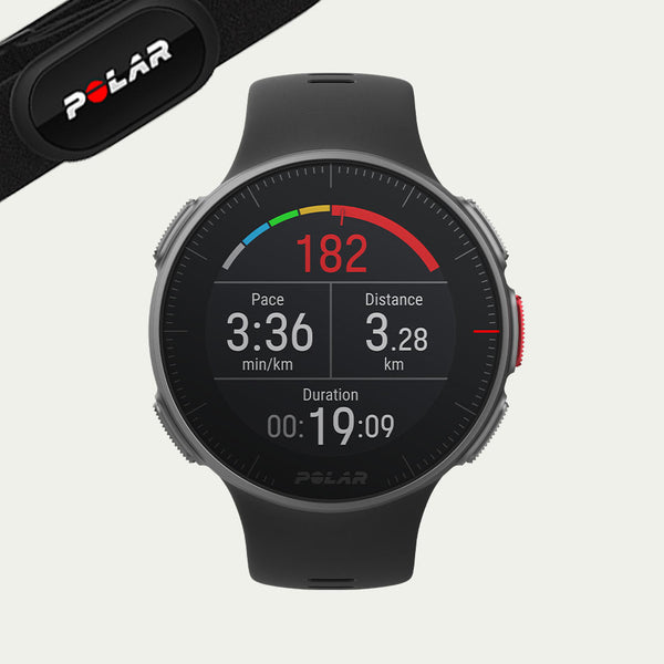 Polar Vantage V Titan with H10 heart rate sensor