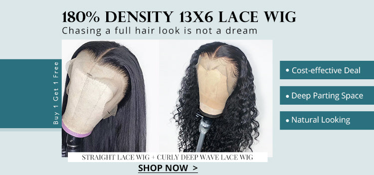 180% Density 13x6 Lace Wig