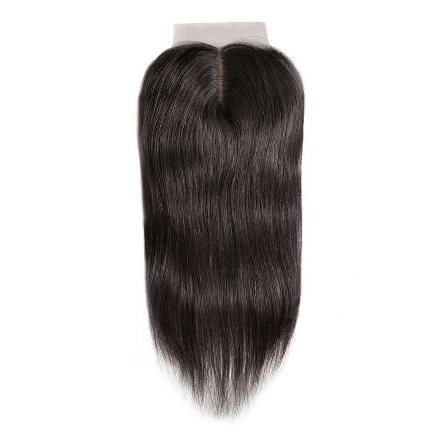 HJ Weave Beauty 4*4 Brazilian Hair Silk Base Closure Straight