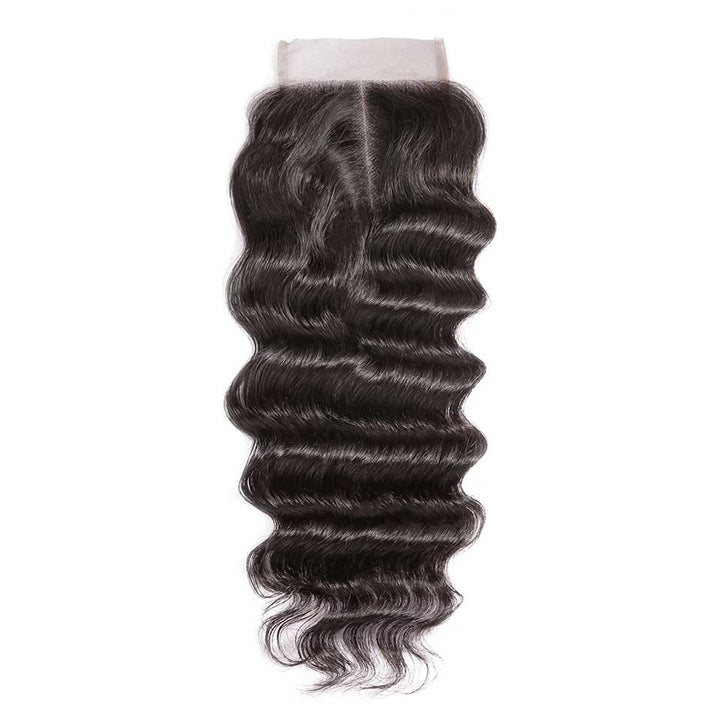 HJ Weave Beauty 4*4 Brazilian Hair Lace Closure Natural Wave