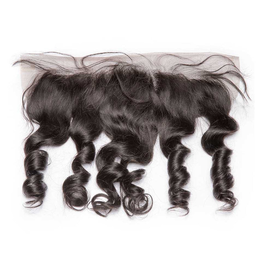 HJ Weave Beauty 13*4 Lace Frontal Brazilian Hair Loose Wave