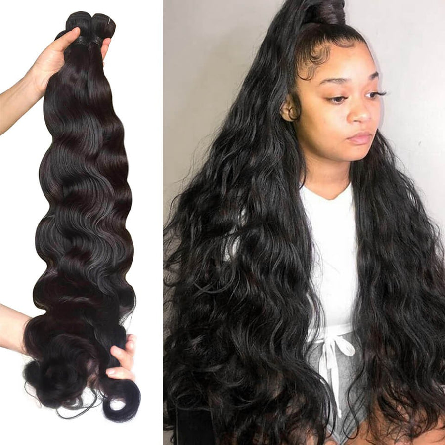 HJ Weave Beauty Long Hair Series Virgin Human Hair Body Wave Bundle Deal