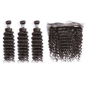 HJ Weave Beauty 7A Malaysian Virgin Hair Deep Wave