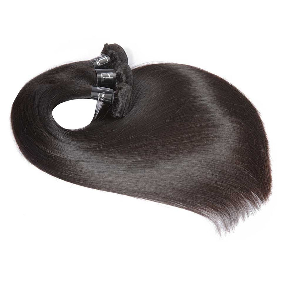 HJ Weave Beauty 7A Indian Virgin Hair Straight