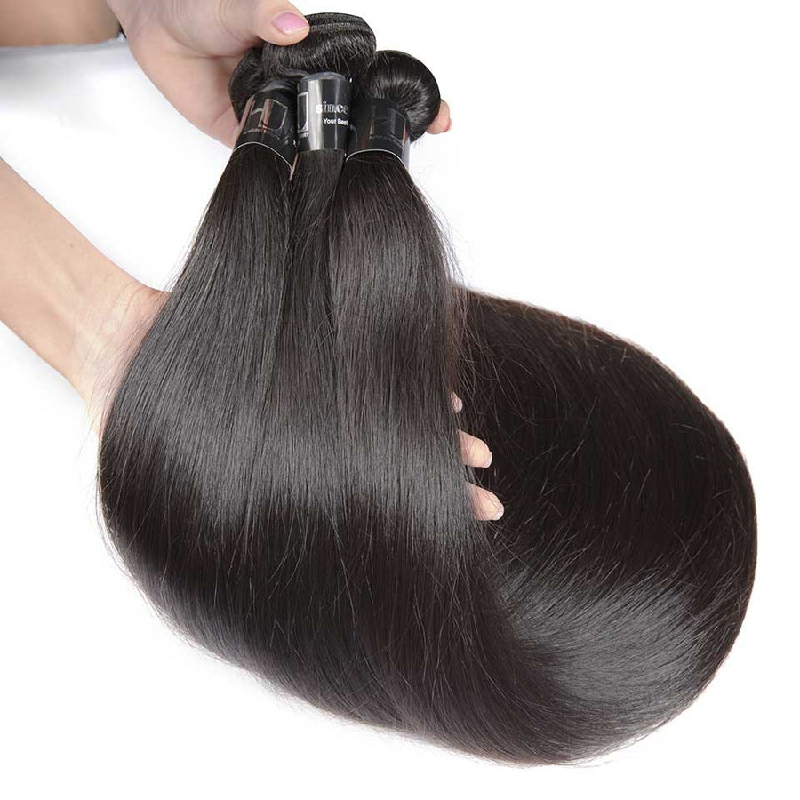 HJ Weave Beauty 7A Peruvian Virgin Hair Straight