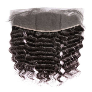 HJ Weave Beauty 13*4 Lace Frontal Brazilian Hair Natural Wave