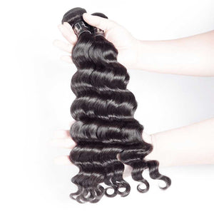 HJ Weave Beauty 7A Peruvian Virgin Hair Natural Wave