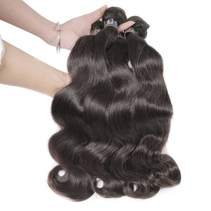 HJ Weave Beauty 7A Indian Virgin Hair Body Wave