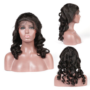 Loose Wave 4x4 Lace Closure Wig Human Hair Lace Wig