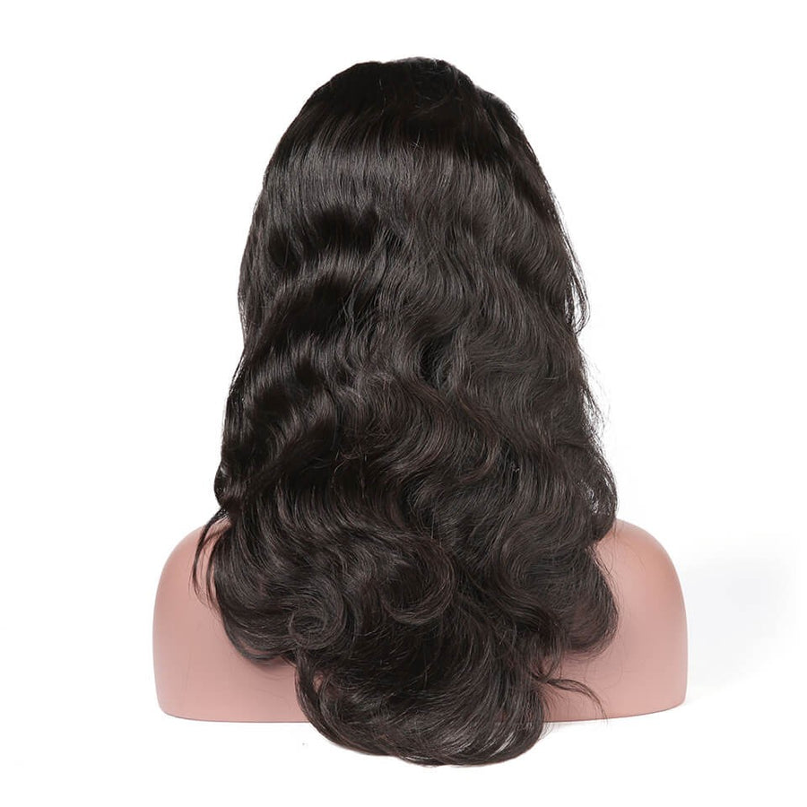 Body Wave Full Lace Wig Pre Plucked Hairline With Baby Hair