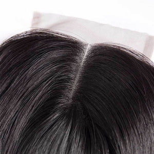 5x5 HD Swiss Lace Closure Straight Human Vingin Hair
