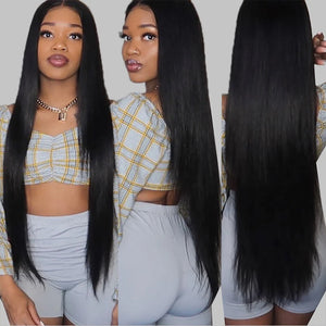 28inch-40inch Straight  13x4 Lace Frontal Wig  Long Human Hair Wigs