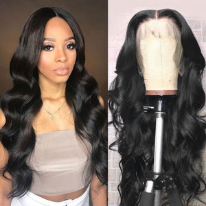 Body Wave 13x6 T-part Wig Human Virgin Hair