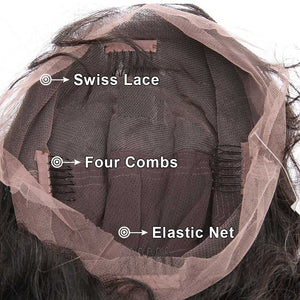 Loose Wave Full Lace Wig Pre Plucked Hairline Highest Quality Wig