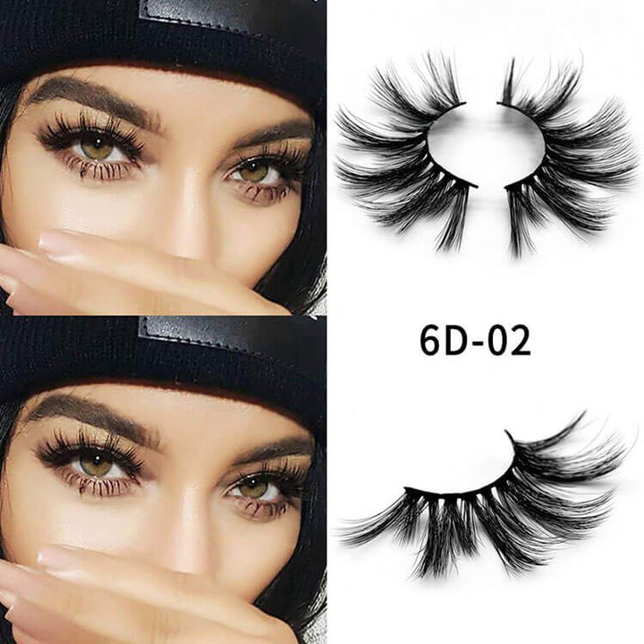 6D Mink Eyelashes | Only Shipping With Other Hair Orders