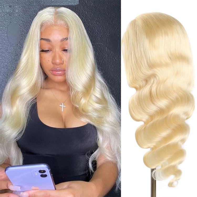 Pay 1 Get 2 Wigs| 130% Density Transparent Lace Blonde Wig+4/27 Highlight Bob Wig 8inch