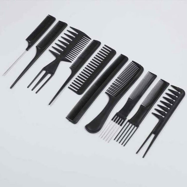 10pcs/Set Professional Hair Brush Comb|Only Shipping With Other Hair Orders