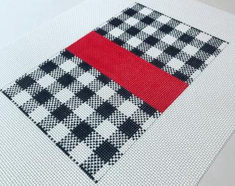 Mini Flat Buffalo Plaid