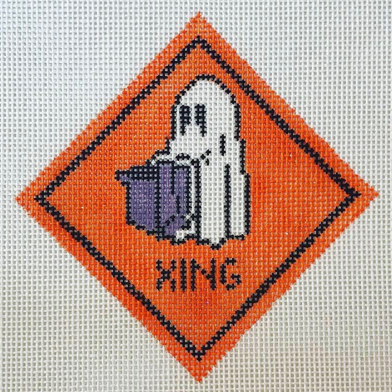 Halloween Street Signs Stitch Guide