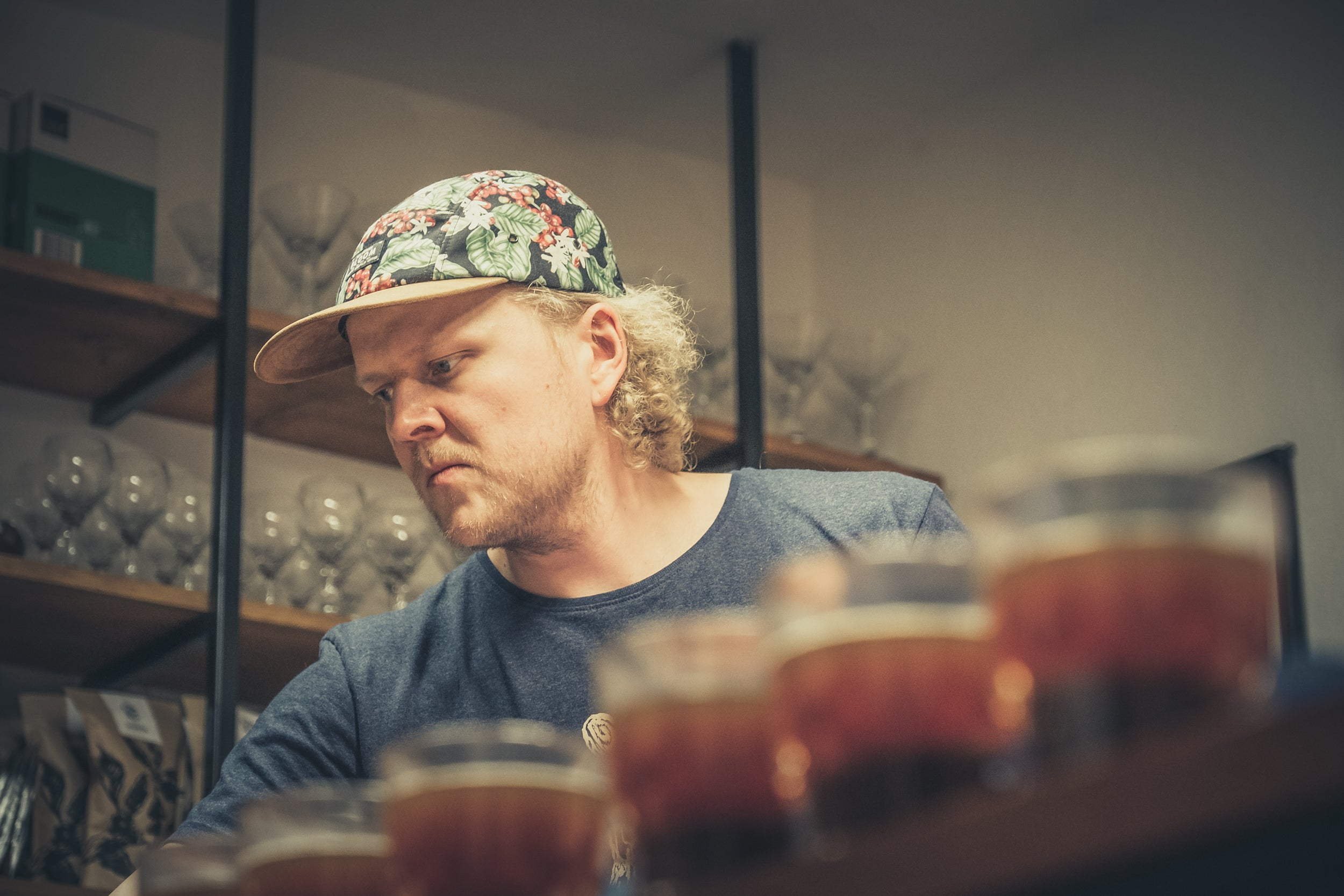 cupping specialty coffee