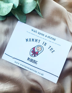 Mummy In The Making / Pregnancy Expecting Card