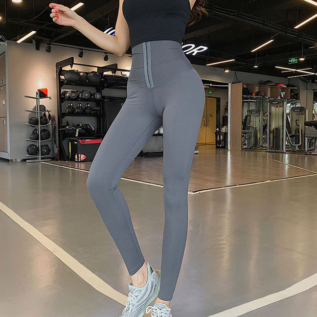 Body Shaping Waist Cincher Sports Leggings