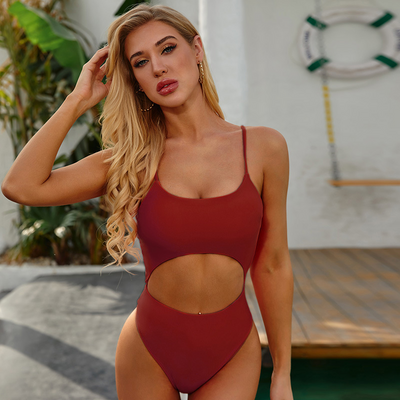 New Edition - Sexy Style One-Piece Swimsuit