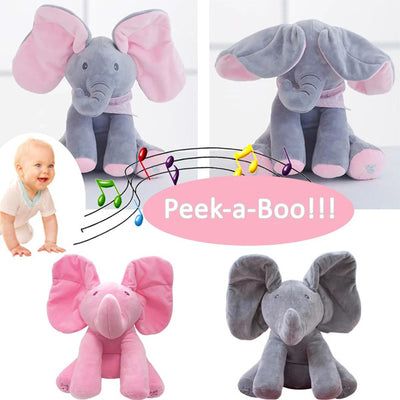Music Elephant Plush Toy