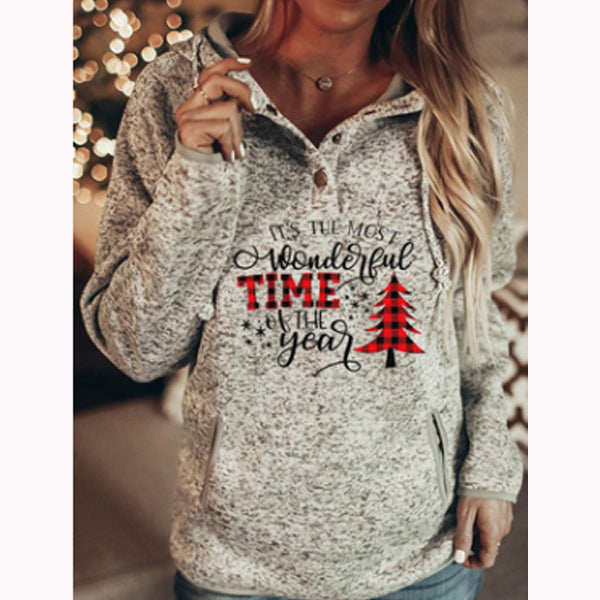 It's The Most Wonderful Time Of The Year Christmas Hoodies