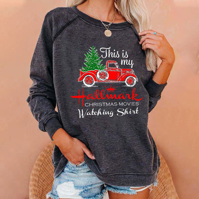 This Is My Hallmark CHRISTMAS Women's Sweatshirt