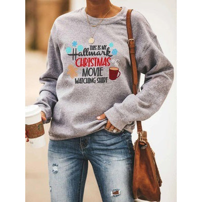 Hallmark Cartoon Print Sweatshirt