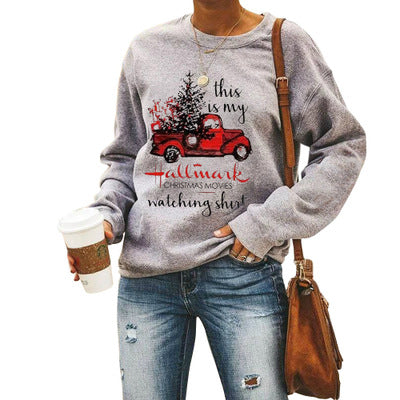 Christmas Car Hallmark Sweatshirt