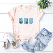 Van Gogh Print Short Sleeve T-shirt