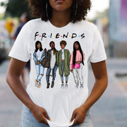 Friends Girls Print T-shirt