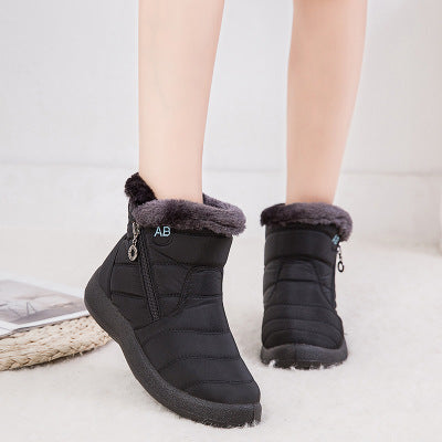 Women's Comfortable Fur Lined Boots