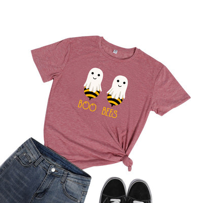 Boo Bees Printed Short Sleeve T-shirt