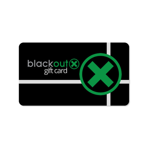 Gift Card - Blackout X  - 1