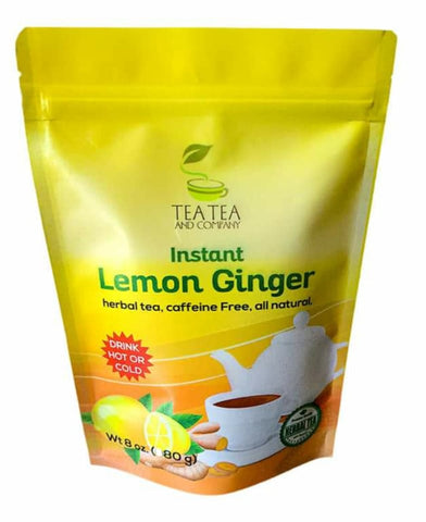 Instant Lemon Ginger Tea