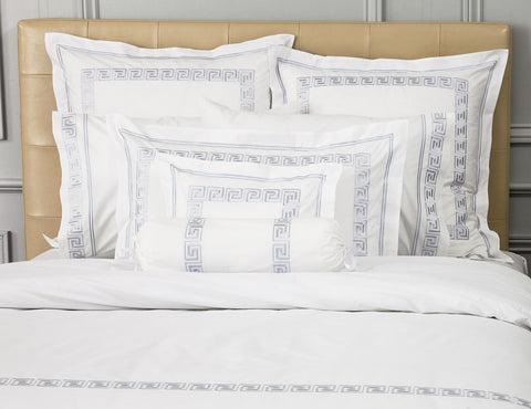 Greek Key Duvet Cover