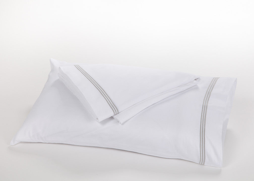 3 Row Satin Cord Pillowcases