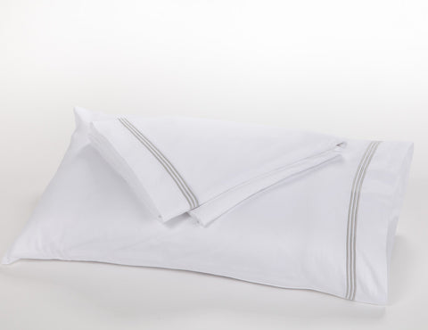 1000TC - 3 Row Satin Cord Pillowcases
