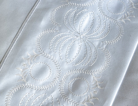 600TC Sateen Intertwined Flat Sheet
