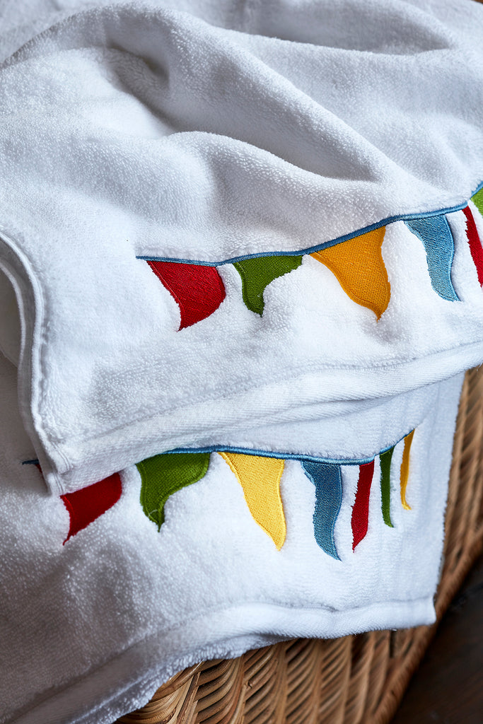 High Summer Bunting Peter Reed Towels