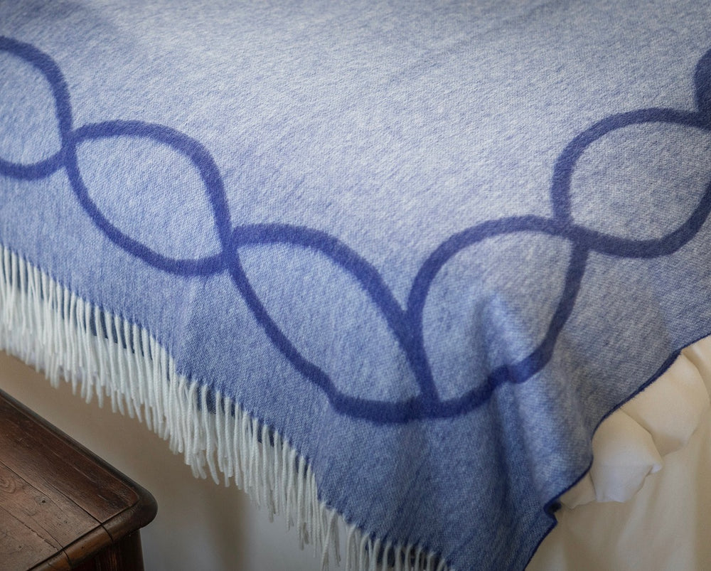 Cable Cashmere Throw