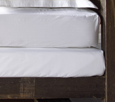 Cotton Percale (matt) Fitted Sheet