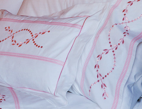 Roman Leaf Pillowcases
