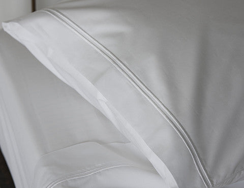 2 Row Satin Cord Pillowcases