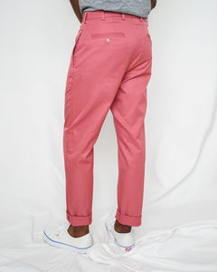 5oz Japanese Cotton Chino, Lt Red