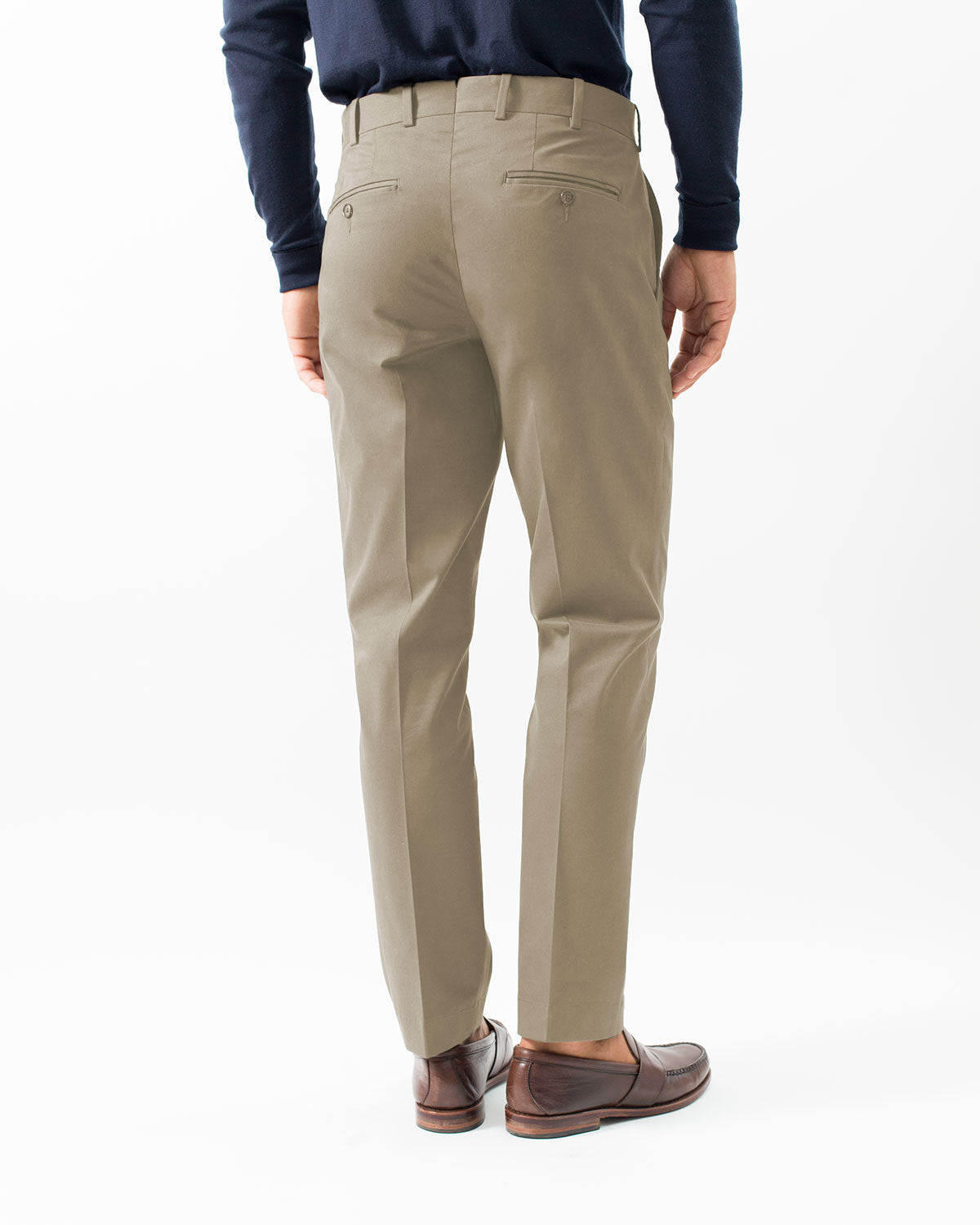 Cotton Stretch Chino, Khaki